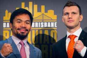 Manny Pacquiao's fight with Jeff Horn to be 'short and sweet'