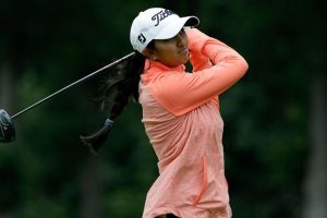 Aditi Ashok tied 11th after first round at Womens PGA