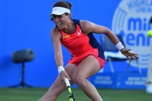 Konta withdraws from Eastbourne tennis semis due to injury