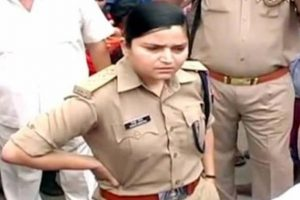 Days after she sent 5 BJP leaders to jail, UP woman police officer shifted