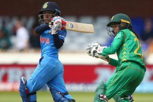 Women's World Cup: Indian women post 169/9 against Pakistan