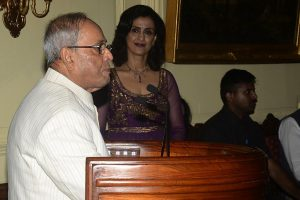 President Pranab Mukherjee reminisces about The Statesman links