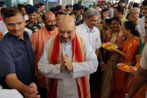 No permission granted for Amit Shah meeting: Goa airport