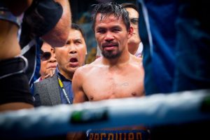 Trainer Freddie Roach urgesManny Pacquiao to quit pro-boxing