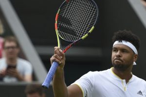Jo-Wilfried Tsonga advances, Nick Kyrgios retires from Wimbledon