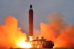 North Korea launches intercontinental ballistic missile: US