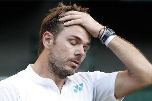 Wimbledon 2017: Stanislas Wawrinka stunned in opener