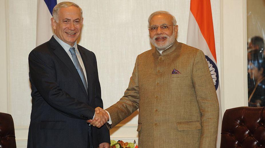 New Delhi, Narendra Modi, Israel, Benjamin Netanyahu