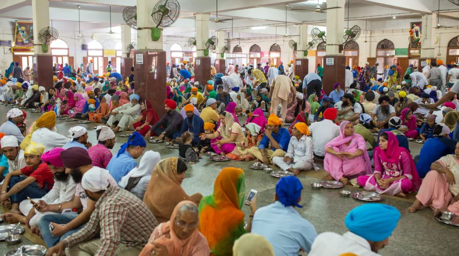 World's largest community kitchen at Golden Temple complex in Amritsar