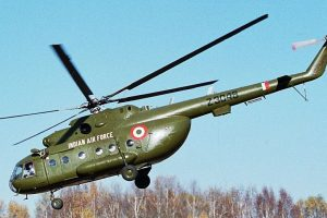 IAF chopper crashes in Assam, two dead