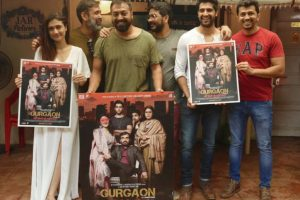 Anurag Kashyap launches poster of 'Gurgaon'