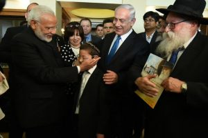 'Baby' Moshe arrives in India with nanny who rescued him during 26/11