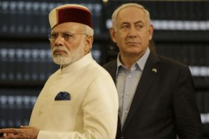 Bravery of Indian soldiers etched in stone at Haifa, PM pays tribute