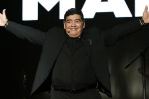 Diego Maradona joins Napoli fans for 30th anniversary of 1st title