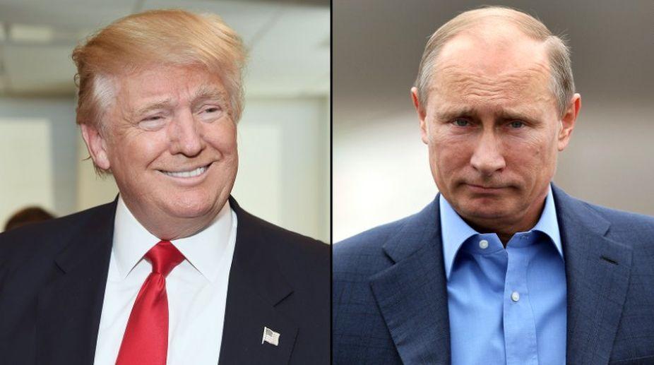 US President, Donald Trump, Russia, Vladimir Putin, Russian President