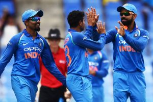 5th ODI: Unchanged India bowl first against West Indies