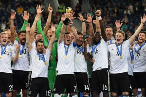 Germany return to top of FIFA world rankings