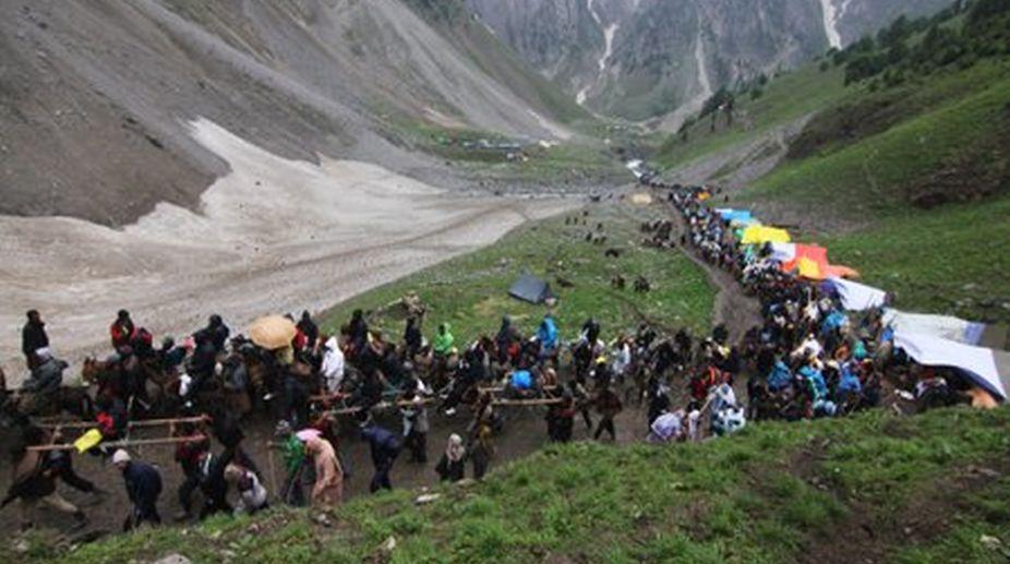 eight lakhs pilgrims in Amarnath