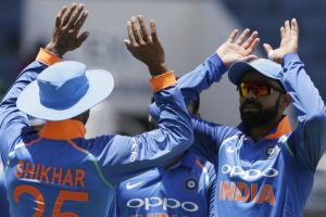 5th ODI: Kohli stars as India beat West Indies by eight wickets