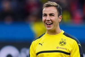 Borussia Dortmund's Mario Goetze ruled out of action for 2017