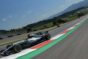 Austrian GP: Lewis Hamilton edges Max Verstappen in first practice