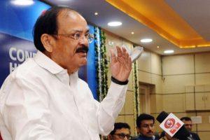 Naidu rubbishes 'conspiracy' theory behind his nomination