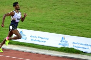 5,000 m gold Asian Athletics winner Lakshmanan once practised barefoot