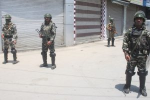 Burhan anniversary: Curfew in Tral, restrictions across Kashmir