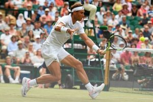 Nadal advances to fourth round at Wimbledon