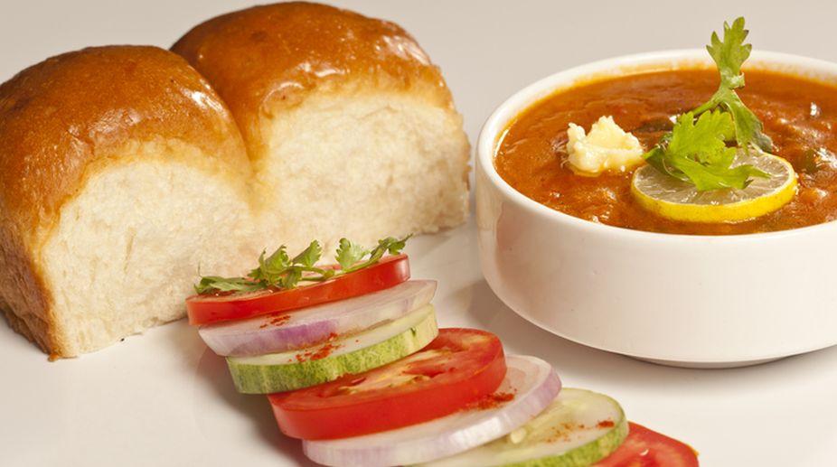 Lip-smacking Bombay Pav Bhaji delight