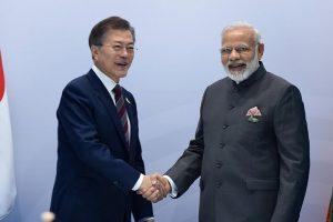 PM Modi meets South Korean President, Italian PM