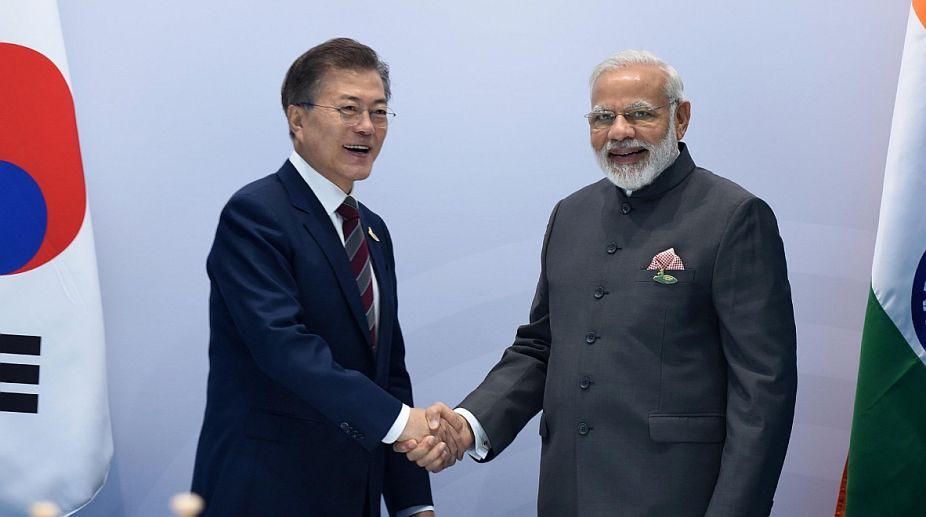 India-South Korea, India-South Korea agreements, South Korean President, Moon Jae-in, Narendra Modi
