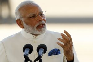 Book on PM Modi 'Marching with a Billion' released
