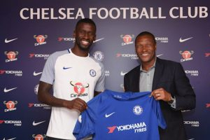 Chelsea sign Roma defender Antonio Rudiger