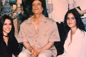 Katrina's throwback picture with Gaddafi goes viral