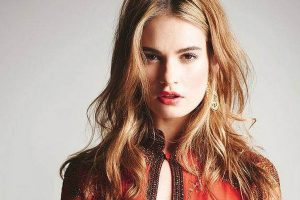 Lily James wants rock 'n' roll movie roles
