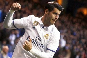 Chelsea target Real Madrid's Alvaro Morata
