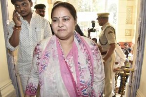 Misa Bharti appears before ED in money laundering case