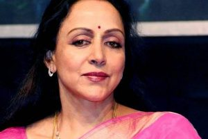 Hema Malini visits Iskcon temple in Moscow