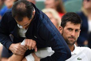 Wimbledon 2017: Novak Djokovic survives injury, slams state of courts