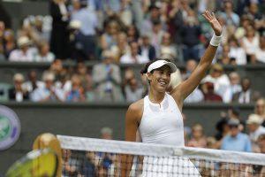 Spain's Garbiñe Muguruza continues to top WTA rankings