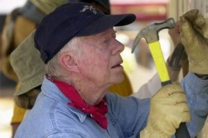 Jimmy Carter hospitalised while building homes in Canada