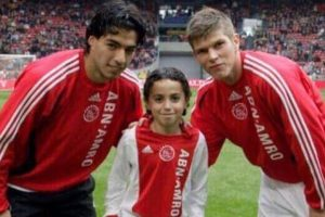 Luis Suarez sends out support for stricken Ajax midfielder Abdelhak Nouri