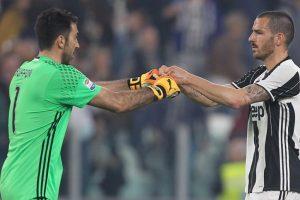 Gianluigi Buffon sad to see Leonardo Bonucci move to AC Milan
