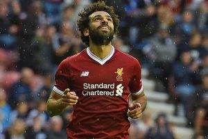 Mohamed Salah scores, but Wigan hold Liverpool to draw