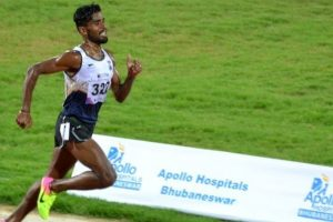 Lakshmanan wins gold in 5000m, three meet records broken