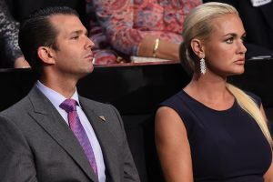 Trump's daughter-in-law in hospital after exposure to white powder