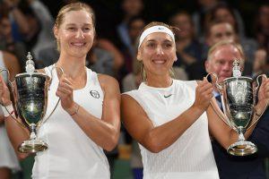 Wimbledon 2017: Ekaterina Makarova, Elena Vesnina in women's doubles title rout