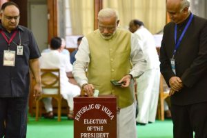 Over 99 per cent lawmakers vote to elect next President