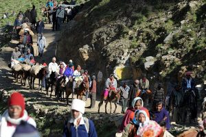 Over 2,200 pilgrims leave for Amarnath